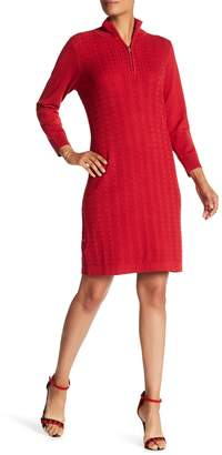 Tommy Bahama Pickford Cable Half-Zip Dress