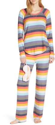 Make + Model Knit Girlfriend Pajamas & Eye Mask