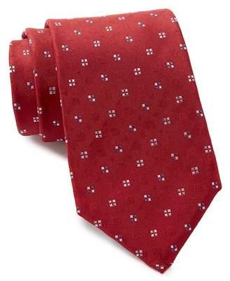 Vince Camuto Bologna Neat Print Silk Tie