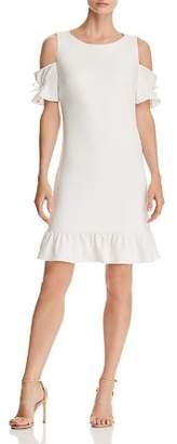Betsey Johnson Cold-Shoulder Dress
