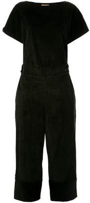 Nehera short sleeve corduroy jumpsuit