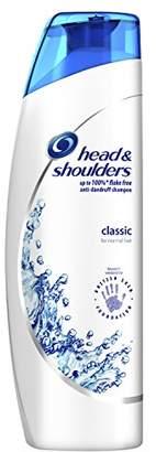 Head & Shoulders Classic Clean Pyrithione Zinc Shampoo, 250 ml - Pack of 6