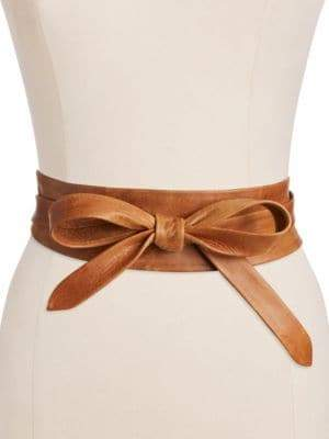 ADA Leather Wrap Belt