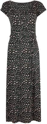 Dorothy Perkins Womens Khaki Gypsy Ankle Grazer Midi Jersey Dress