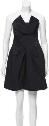 Armani Collezioni Strapless Mini Dress w/ Tags
