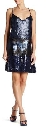 Desigual Rupit Sequin Tank Dress