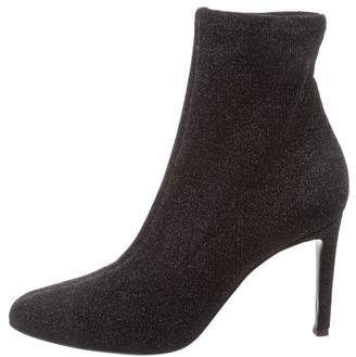 Giuseppe Zanotti Glitter Sock Booties
