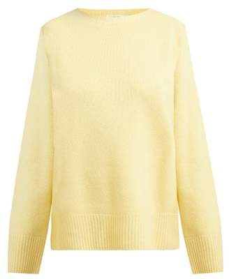 The Row Sibel Wool And Cashmere Blend Sweater - Womens - Yellow