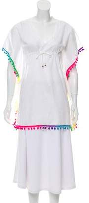 Pilyq Embroidered Oversize Blouse