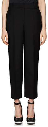 Givenchy Women's Mohair-Wool Canvas Tuxedo Trousers