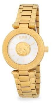 Versace Brick Lane Stainless Steel Bracelet Watch