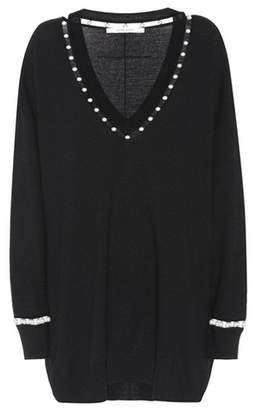 Givenchy Wool, silk and cashmere sweater