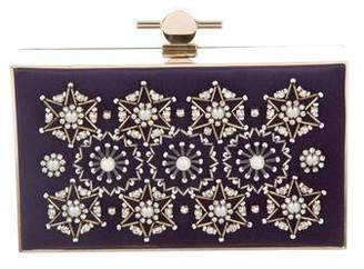 Jason Wu Embellished Karlie Box Clutch