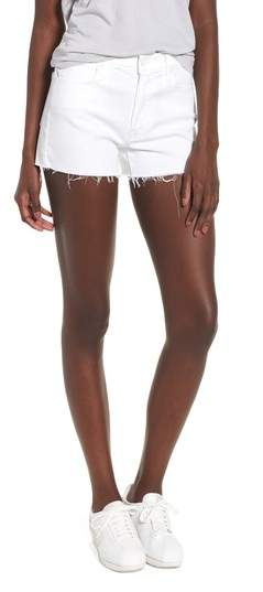 The Charmer Fray Denim Shorts
