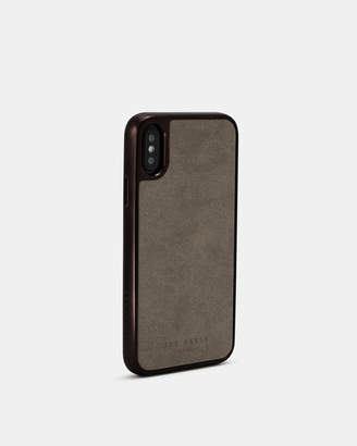 HARTZZ ConnecTED suede iPhone X/XS case