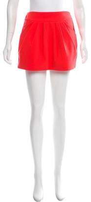 Diane von Furstenberg Pleated Mini Skirt w/ Tags
