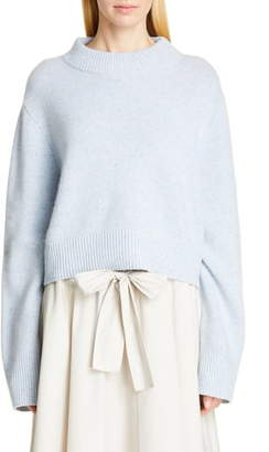 Co Boxy Cashmere Crop Sweater