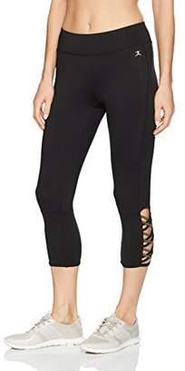 Danskin Women's Lattice Capri Legging