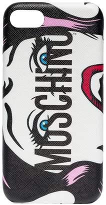 Moschino logo print iPhone 8 case
