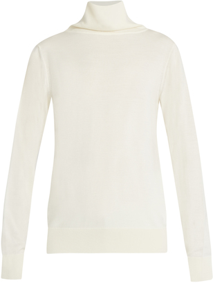 Caya wool and cashmere-blend roll-neck sweater