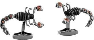 Tateossian Mechanical Scorpion Cufflinks $250 thestylecure.com