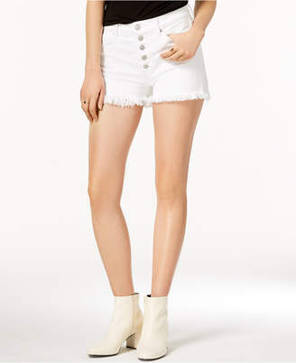 Hudson Zoeey High Rise Button-Fly Shorts