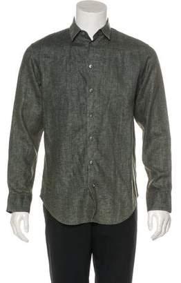 Giorgio Armani Linen Button-Up Shirt