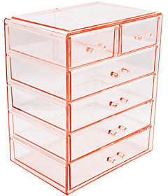 Sorbus Makeup and Jewelry Storage Case with 6 Drawers