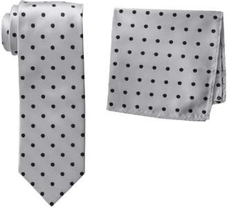 Stacy Adams Men's Satin Dot Tie Set