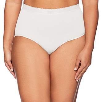 Warner's Women's Plus Size Breathe Freely Brief Panty