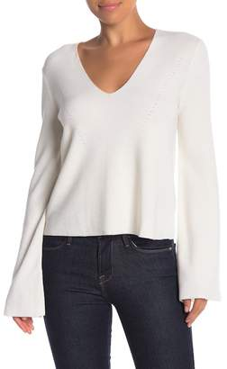 KENDALL + KYLIE Kendall & Kylie V-Neck Bell Sleeve Top