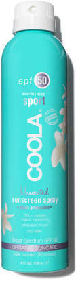 Coola Eco-Lux SPF50 Unscented Sunscreen Spray