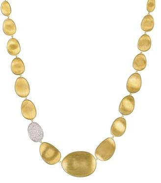 Marco Bicego Diamond Lunaria Collar Necklace in 18K Gold, 16.5""