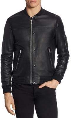The Kooples Zippered Long Sleeve Jacket