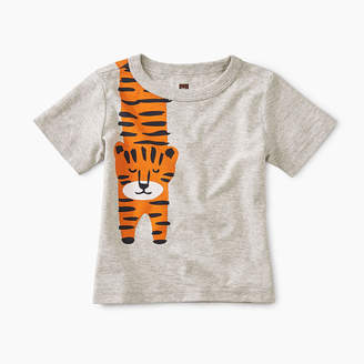Tea Collection Tiger Turn Baby Graphic Tee