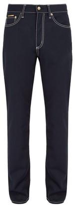 Eytys Cypress Wool Blend Trousers - Mens - Navy