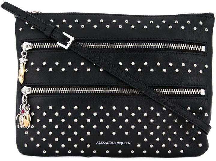Alexander McQueenAlexander McQueen multi zip clutch