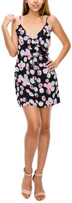 Glam Paint Dot Ruffle Dress