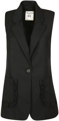 Semi-Couture Semicouture Sleeveless Blazer