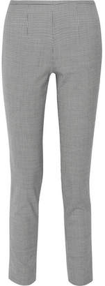 Michael Kors Collection - Houndstooth Stretch-wool Blend Skinny Pants - Black $695 thestylecure.com