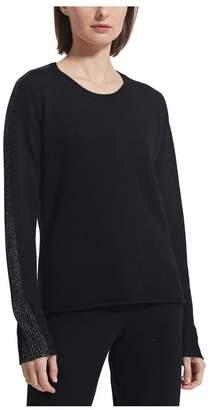 ATM Anthony Thomas Melillo Sparkle Cashmere Crew Neck Sweater - Exclusive