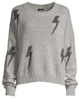 Rails Perci Lurex Lightning Bolt Sweater