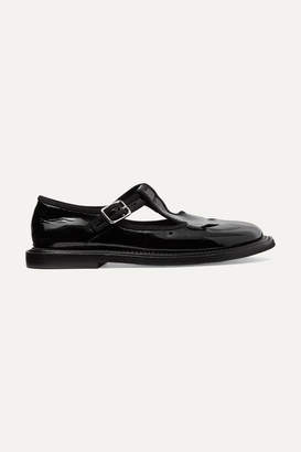 Burberry Patent-leather Loafers - Black