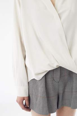 3.1 Phillip Lim Soft Draped Sleeved Blouse