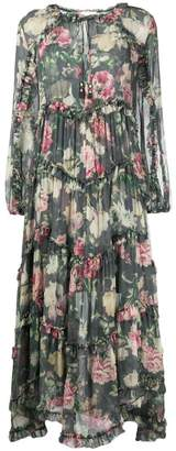 Zimmermann resort ruffled dress