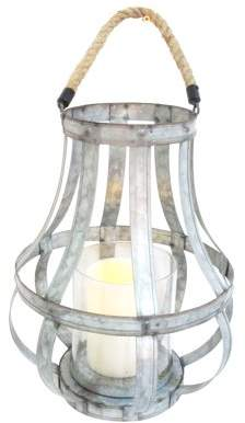 A&B Home Metal Lantern Candleholder