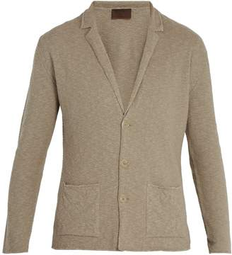 Altea Linen and cotton-blend cardigan