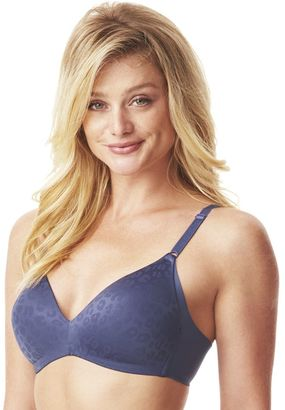 Warner's Bras: No Side Effects Animal Deluster Wire Free Bra RM2561A $42 thestylecure.com