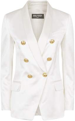 Balmain Satin Tuxedo Jacket
