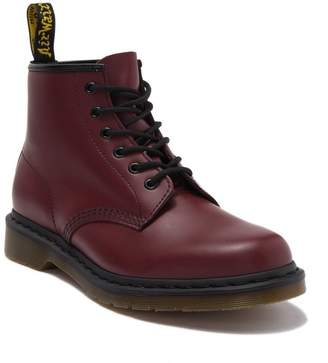 Dr. Martens 6-Eye Cherry Leather Boot
